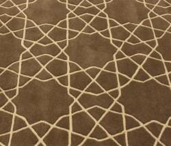 nuLOOM Handmade Marrakesh Trellis Brown Wool Rug (5' x 8') - Thumbnail 2