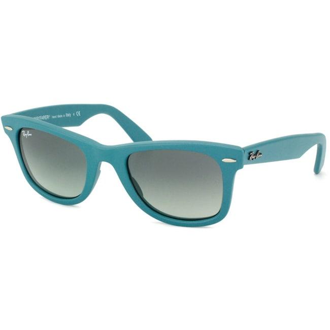 Ray-Ban RB 2140 Original Wayfarer 884/71 Matte Turqoise Plastic Sunglasses