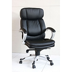 Minta Black Bycast Pneumatic Lift Office Chair