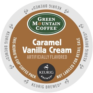 Green Mountain Coffee Caramel Vanilla Cream K-Cups for Keurig Brewers (2 options available)