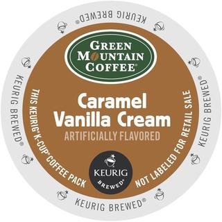 Green Mountain Coffee Caramel Vanilla Cream K-Cups for Keurig Brewers