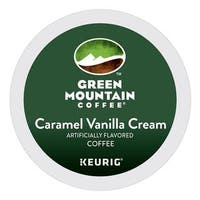 Green Mountain Coffee Caramel Vanilla Cream K-Cups for Keurig Brewers