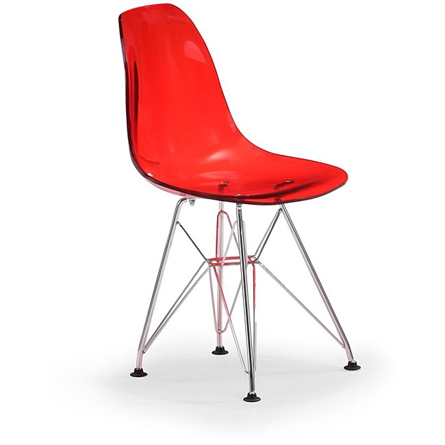 Baby Spire Transparent Red Chair