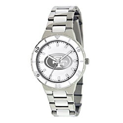 Game Time Women's San Francisco 49ers Logo Pearl Watch