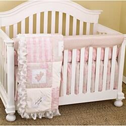 Cotton Tale Girls 4-piece Crib Bedding Set in Heaven Sent