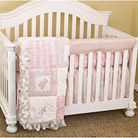 Cotton Tale Girls 4-piece Crib Bedding Set in Heaven Sent