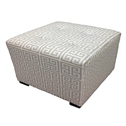 Sole Designs Kasumi Chain Square Ottoman