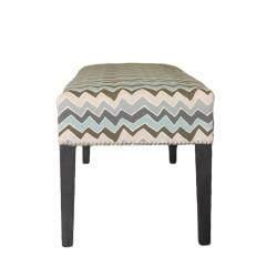 Sole Designs Denton ZigZag Bench - Thumbnail 2