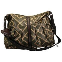 Hugamonkey Olive Green Diaper Bag