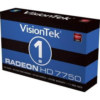 Visiontek Radeon HD 7750 Graphic Card - 1 GB GDDR5 - PCI Express 3.0