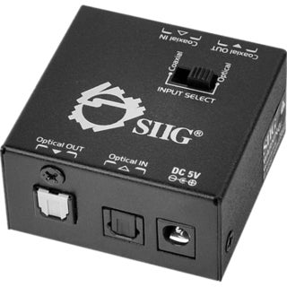 SIIG S/PDIF Coaxial/TOSLINK 2-Way Converter