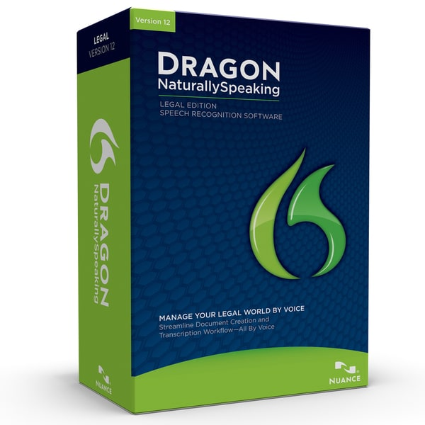 Dragon NaturallySpeaking 12 Legal