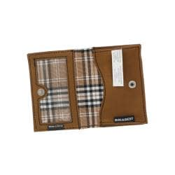 Rolodex Brown Personal Card Case - Thumbnail 1