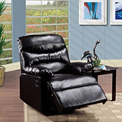 Arcadia Espresso Brown Recliner