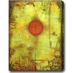 'The Sun' Abstract Oil on Canvas Art
