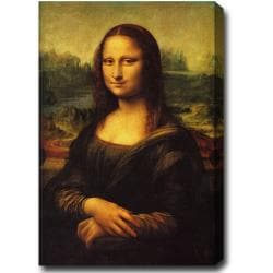 Leonardo da Vinci 'Mona Lisa' Oil on Canvas Art
