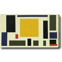 Theo van Doesburg 'Composition The Cow' Abstract Oil on Canvas Art