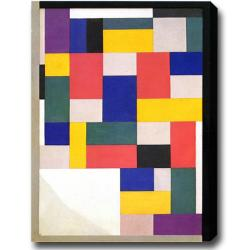 Theo van Doesburg 'Composition Pure' Abstract Oil on Canvas Art
