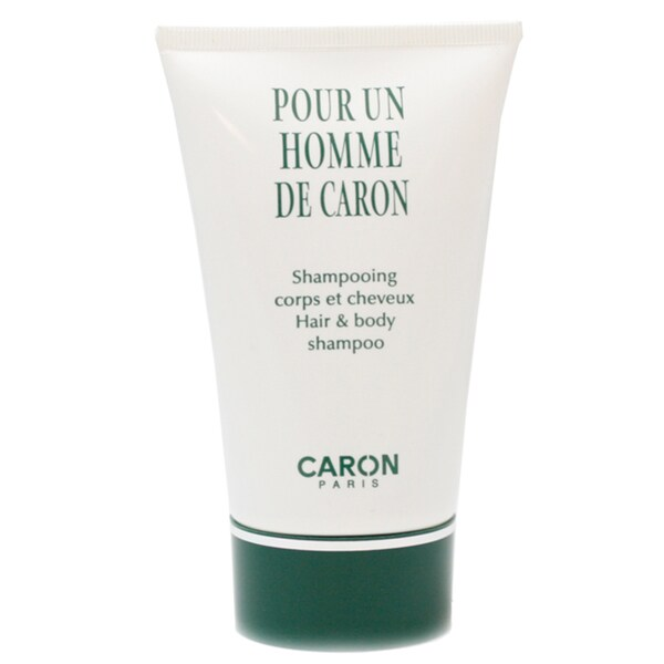 Caron 'Pour Un Homme' Men's 4.2-ounce Hair and Body Shampoo (Tester)