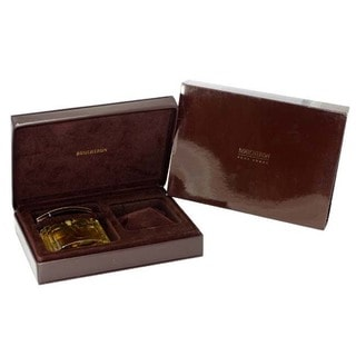 Boucheron Men's 3.4-ounce Eau de Toilette Spray in Leather Case