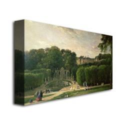 Charles Daubigny 'The Park at St.Cloud, 1865' Canvas Art - Thumbnail 1