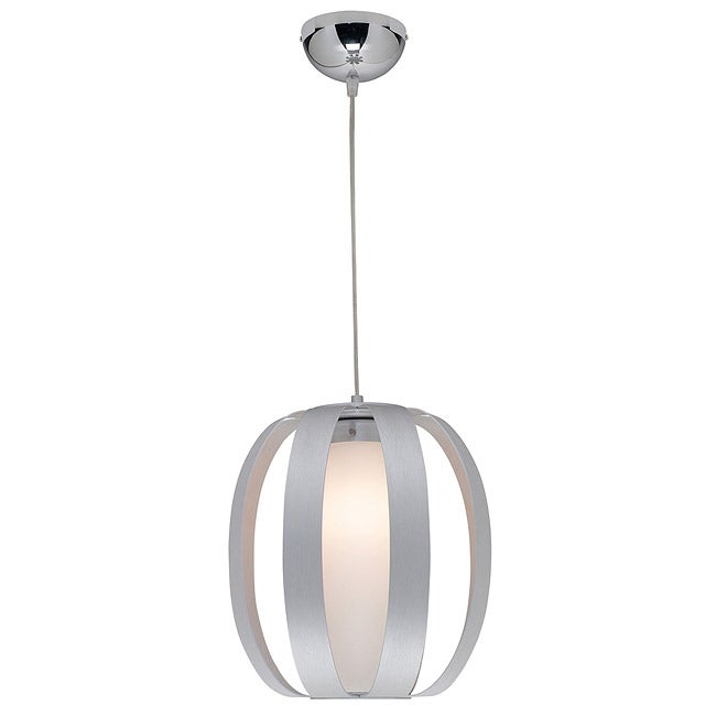 Access 'Helix' Aluminum Finish One-light Pendant