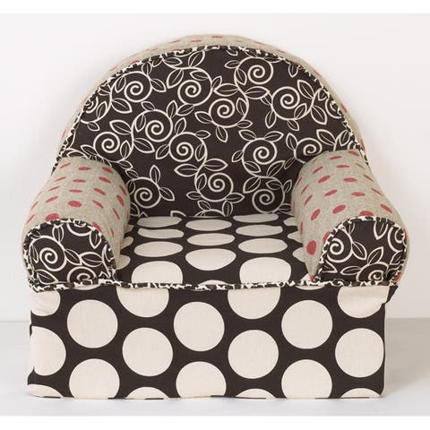 Cotton Tale Raspberry Dot Baby's 1st Chair - Multi