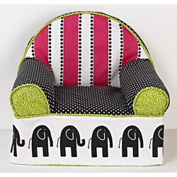 Cotton Tale Hottsie Dottsie Baby's First Cloth-covered Foam Chair
