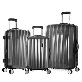 Olympia 'Titan' 3-piece Hardside Spinner Luggage Set