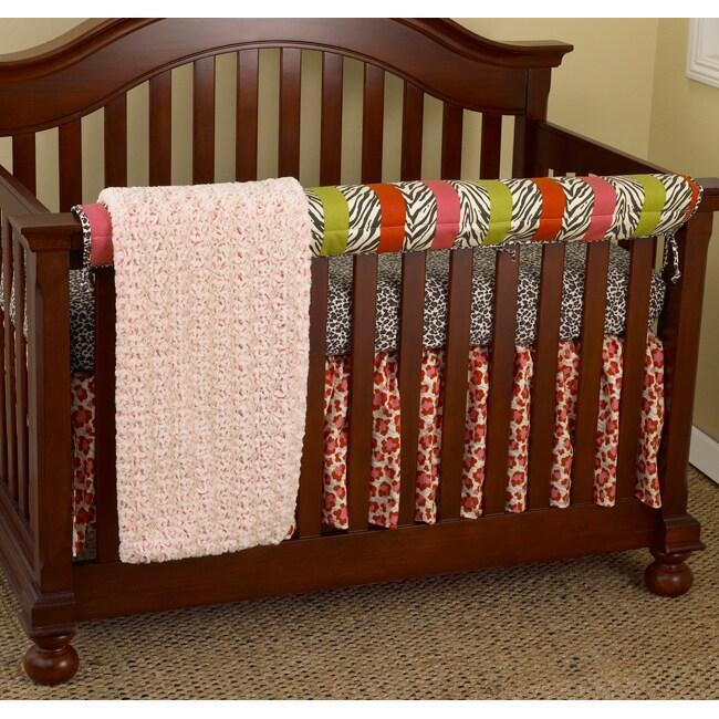 Cotton Tale Here Kitty Kitty 4-piece Crib Bedding Set (He...