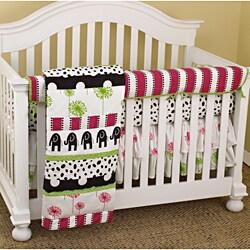 Cotton Tale Hottsie Dottsie 4-piece Crib Bedding Set
