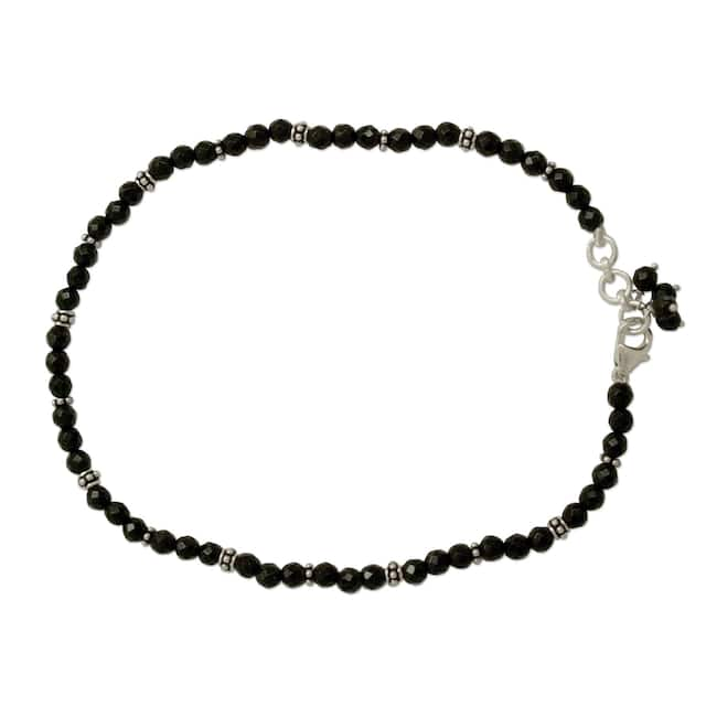 Midnight Grace  Womens Anklet