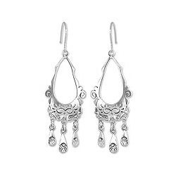 Sterling Silver 'Taxco Treasure' Earrings (Mexico)
