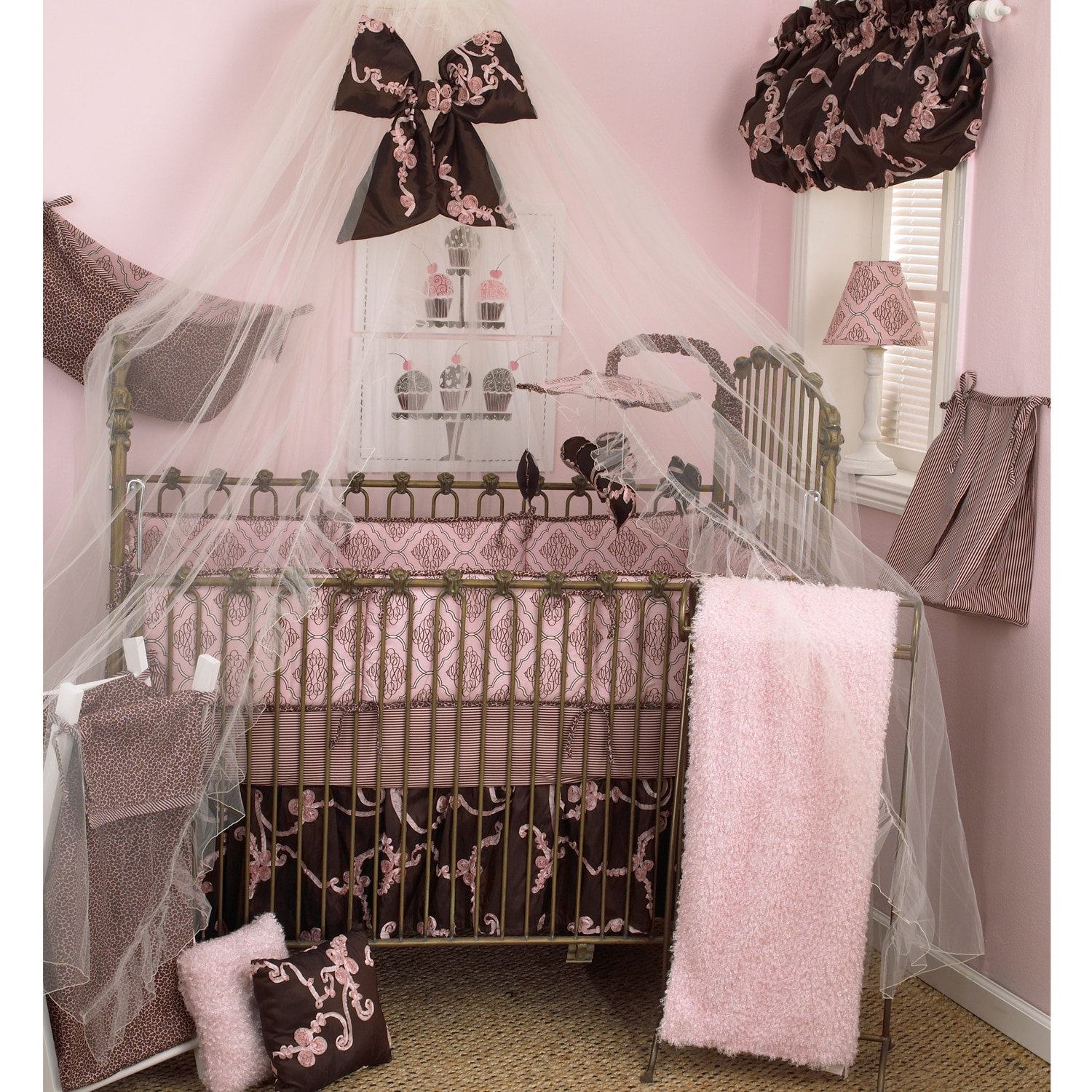 Cotton Tale Cupcake Mosquito Net