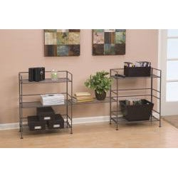 Seville 3-tier Rectangular Folding Shelf
