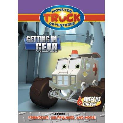Monster Truck Adventures: Getting in Gear (DVD)