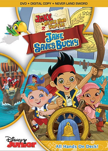 Jake and the Never Land Pirates: Jake Saves Bucky (DVD)