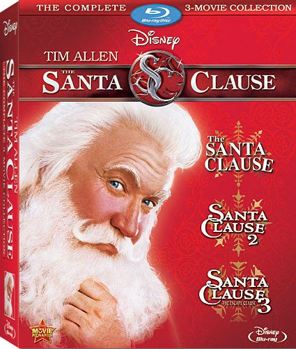 The Santa Clause Movie Collection (Blu-ray Disc)