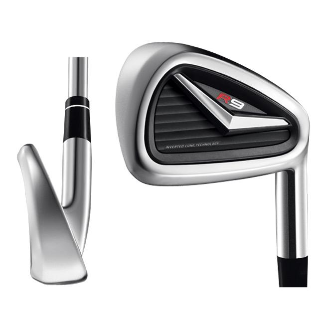 TaylorMade Men's R9 8-piece Graphite Shaft Iron Set