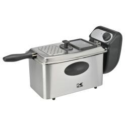 Shop Kalorik Stainless Steel 4-quart Deep Fryer - Free