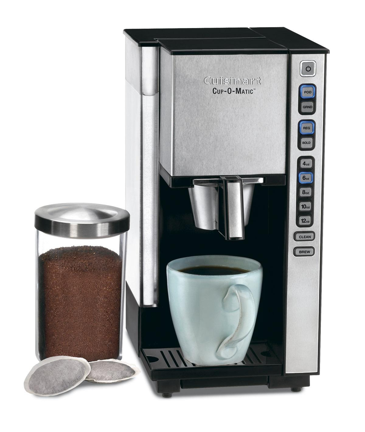 Cuisinart SS-1 Cup-O-Matic Single-serve Black and Brushed Chrome Coffeemaker (Refurbished)