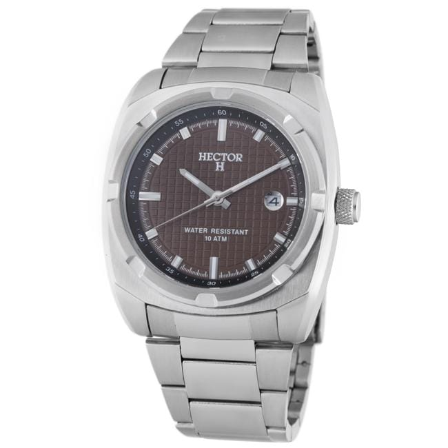 Hector H France Men's 'Fashion' Brown Dial Watch