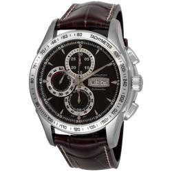 Hamilton Men's 'Lord Hamilton' Brown Strap Chronograph Watch