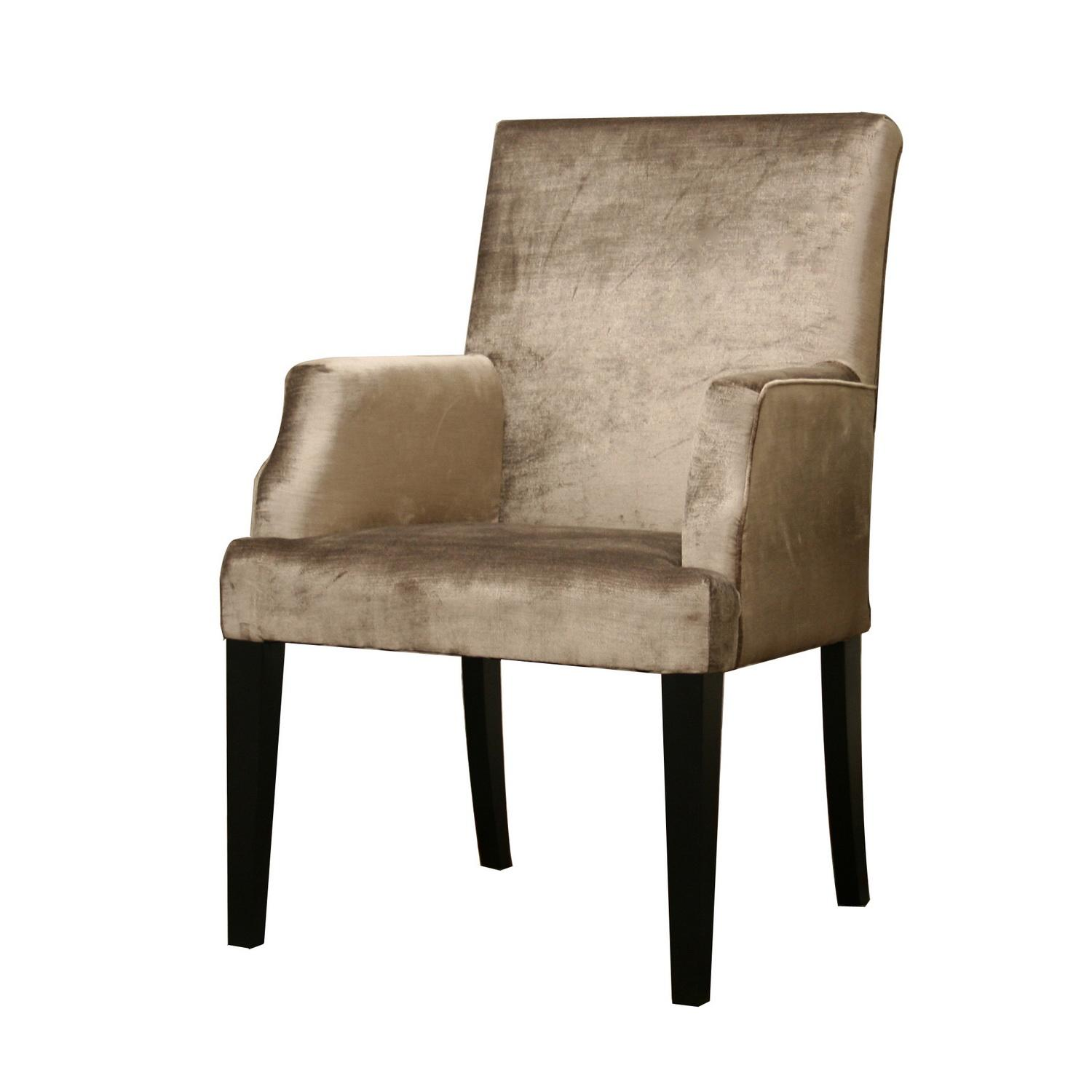 Lissette Crushed Velvet Fabric Accent Chair Free Shipping Today