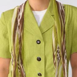 Dana Kay Women's Plus Size 3-piece Pant Suit Set - Thumbnail 2