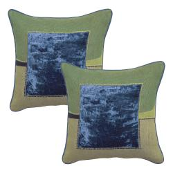 Naples Royal Blue Decorative Pillows (Set of 2) - Free Shipping Today - Overstock.com - 13100888