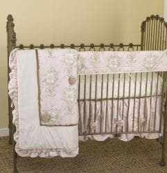 Cotton Tale Lollipops and Roses 4-piece Crib Bedding Set