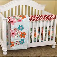 Cotton Tale Lizzie  Piece Crib Bedding Set