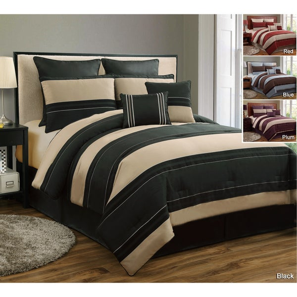 VCNY Cambridge 8-piece Chenille Comforter Set