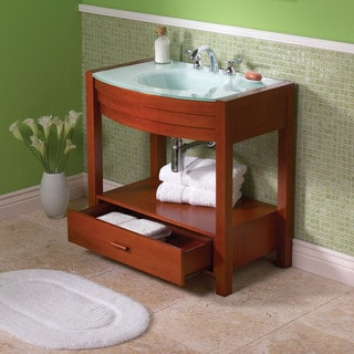 Sag Harbour Cherry Finish 8 Inch Vanity
